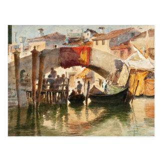 Roussoff's Venice postcard