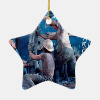 Roustabout Ceramic Ornament