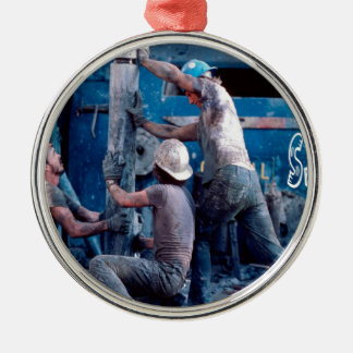 Roustabout Metal Ornament