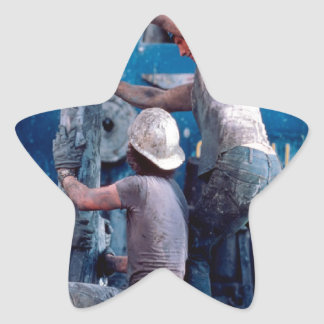 Roustabout Star Sticker