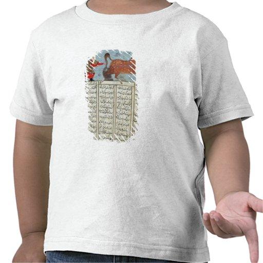 Roustem que captura su caballo, del 'Shahnama Camisetas