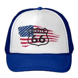 Route66 Cap Mesh Hats
