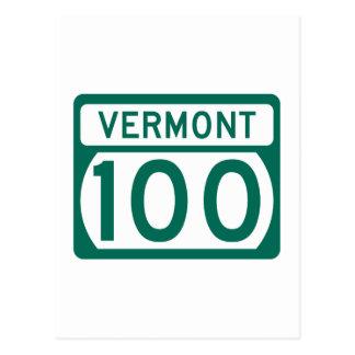 Route 100, Vermont, USA Postcard