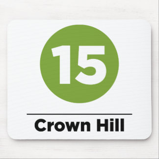 Route 15 - Crown Hill Mouse Pad