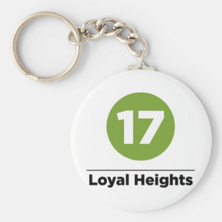Route 17 keychain