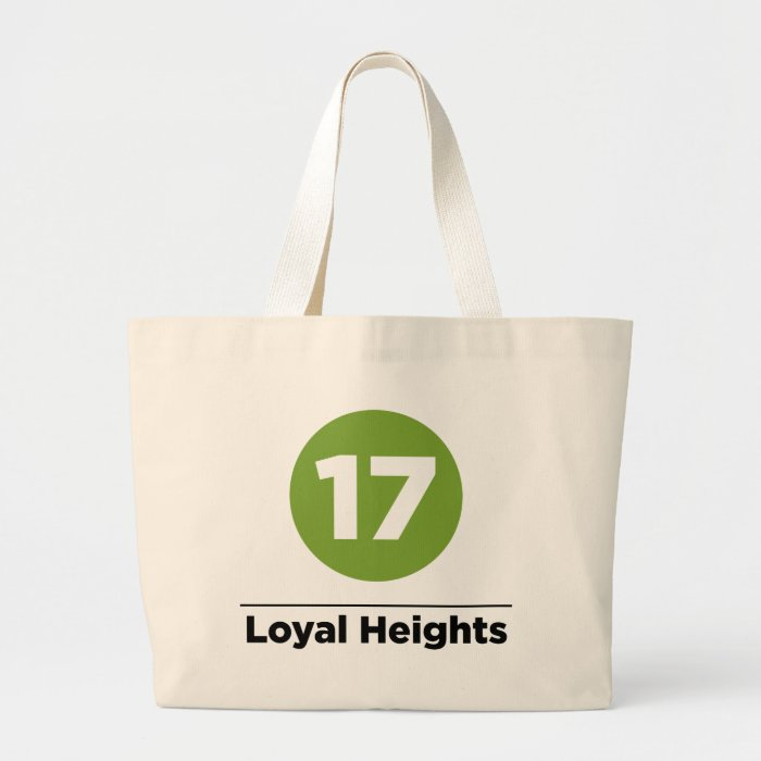 Route 17 large tote bag