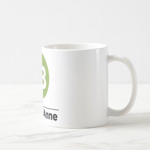 Route 18 classic white coffee mug