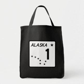 Route 1, Alaska, USA Tote Bag