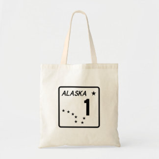 Route 1, Alaska, USA Tote Bags