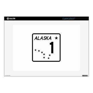 Route 1 Alaska USA Laptop Decal