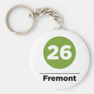 Route 26 - Fremont Keychain