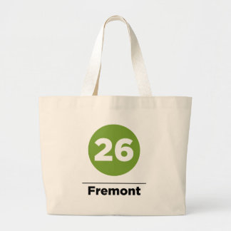 Route 26 - Fremont Large Tote Bag