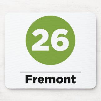 Route 26 - Fremont Mouse Pad
