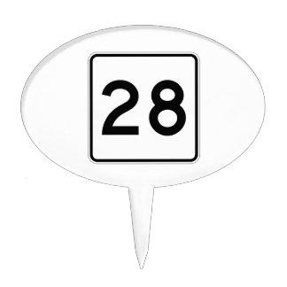 Route 28, Massachusetts, USA Cake Pick