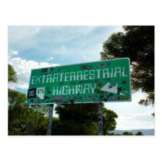 Route 375, Extraterrestrial Highway Postcard