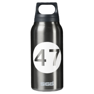 Route 47, New Jersey, USA Insulated Water Bottle