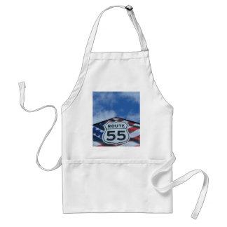 route 55 apron