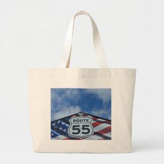 route 55 canvas bags