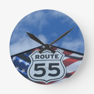 route 55 clocks