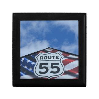 route 55 trinket box