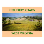 Route 55, Highland Scenic Highway Postcard