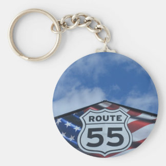 route 55 keychains