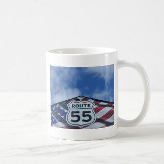 route 55 coffee mugs