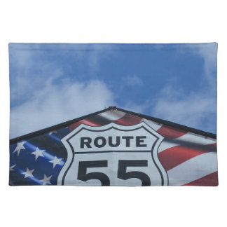 route 55 placemats