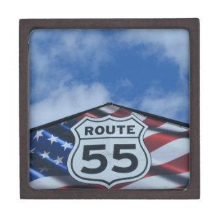 route 55 premium keepsake box