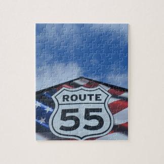 route 55 puzzles
