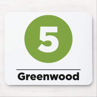 Route 5 - Greenwood Mouse Pad