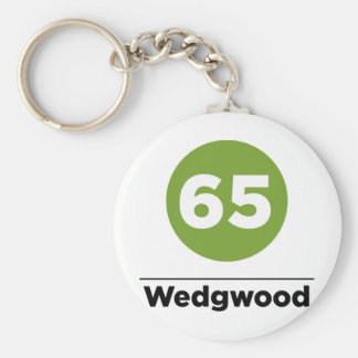 Route 65 keychain