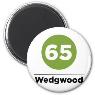 Route 65 magnet