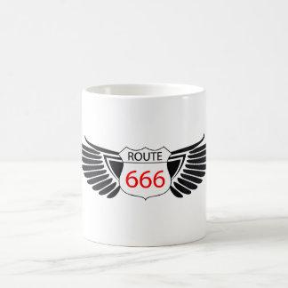 ROUTE 666 COFFEE MUG