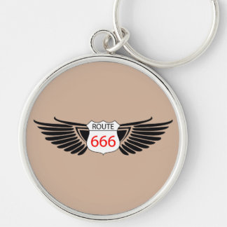 ROUTE 666 KEYCHAIN