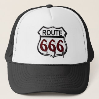 Route 666 trucker hat