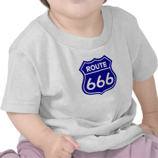 Route 666 t-shirts