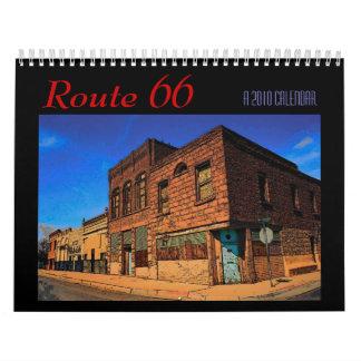 Route 66 2010 Calendar