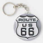 Route 66 3-D looking Keychain