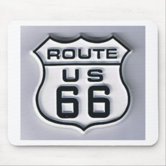 Route 66 3-D looking Mouse Pad
