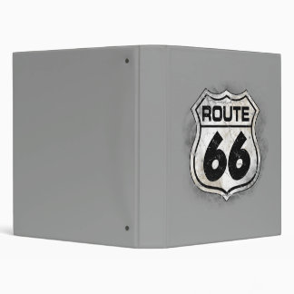 Route 66 3 ring binder