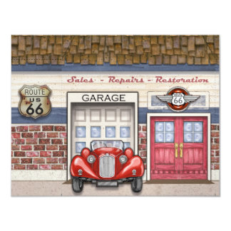 Route 66 - #3 - SRF Card
