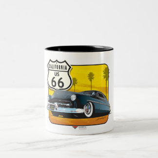 Route 66 - 50 Mercury Two-Tone Coffee Mug
