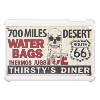 Route 66 700 miles desert vintage sign iPad mini cases