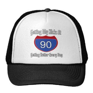 Route 66 90th Birthday Trucker Hat