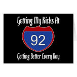 Route 66 92nd Birthday Card