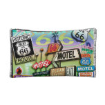 ROUTE 66 ACCESSORY COSMETIC CLUTCH BAG MAKEUP BAGS