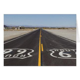 Route 66, Amboy (California, USA) Card