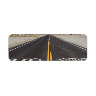 Route 66, Amboy (California, USA) Label