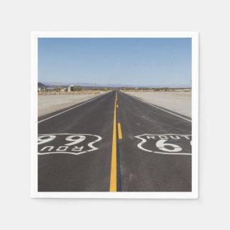 Route 66, Amboy (California, USA) Napkin